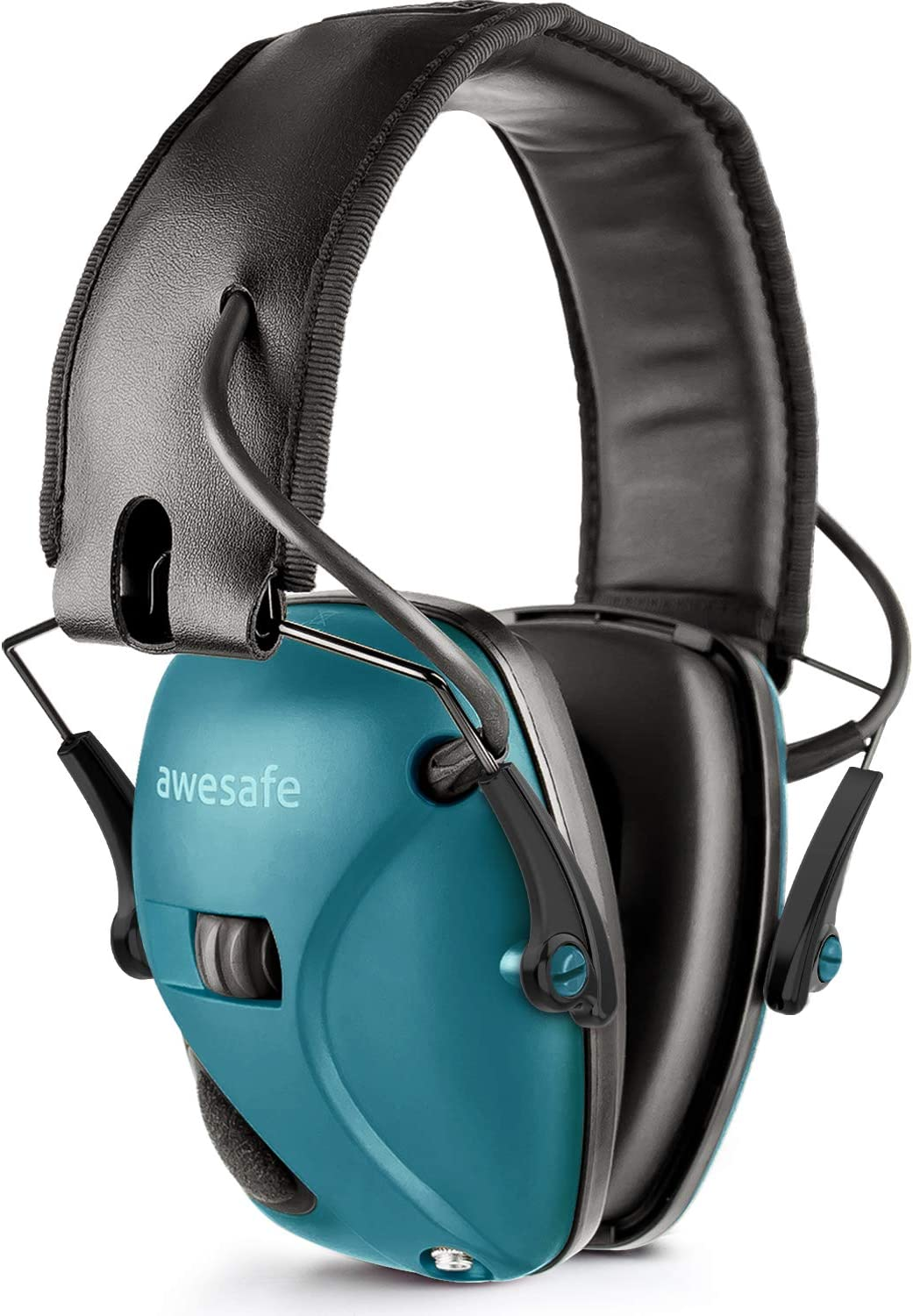awesafe Electronic Shooting Earmuffs, Shooting Hearing Protection with Noise Reduction Sound Amplification