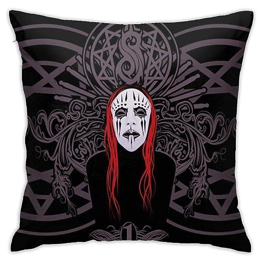 KEKEBINK Slipknot Joey Jordison Funda De Cojín Decorativa ...