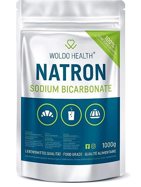Polvo de Soda Bicarbonato de Sodio Alimentario - Calidad de los alimentos 1.000g (1.000