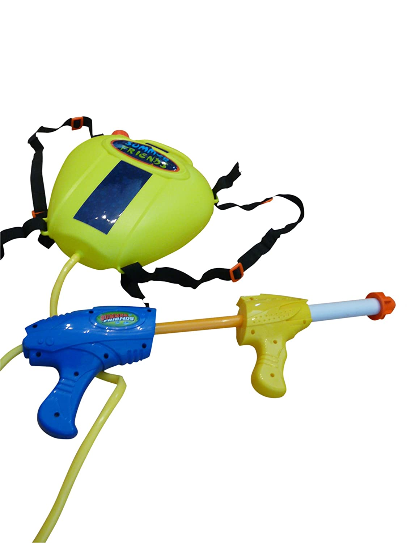 S34 Wasserpistole Pumpgun mit s/ü/ßem Bienen-Rucksack als Wassertank