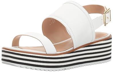 ALDO Women s Jin Platform Sandal White 6.5 ...
