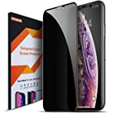 COVELL iPhone Xs Max フィルム 「プライバシー防止系列 全面保護」 強化ガラス 覗き見防止タイプの中透過率が高い ケースに干渉せず 付け易い道具付き 気泡ゼロ フルカバー