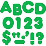 """TREND enterprises, Inc. Green 4"""" Casual Uppercase Ready Letters"""