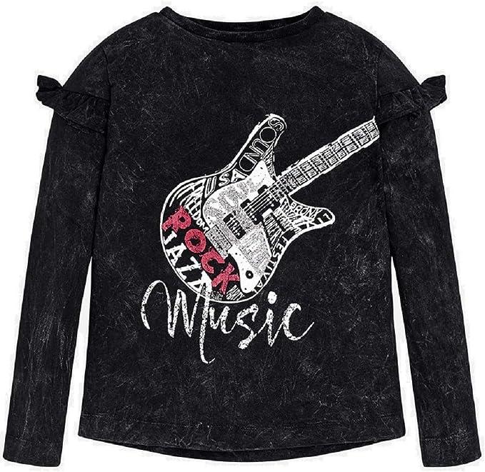 Mayoral Camiseta Manga Larga Guitarra niña Modelo 7060 (10A ...
