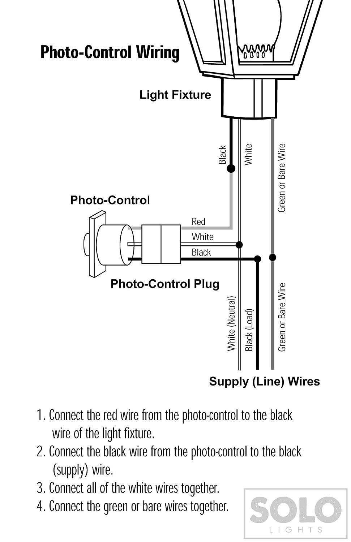 Daylight Sensor Wiring Diagram 120v