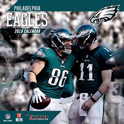 Eagles Calendar 2019 Amazon.: 2019 Philadelphia Eagles Wall Calendar, Philadelphia