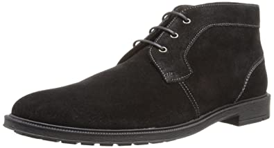 Stacy Adams Men's Dabney Chukka Boot, Black Suede, ...