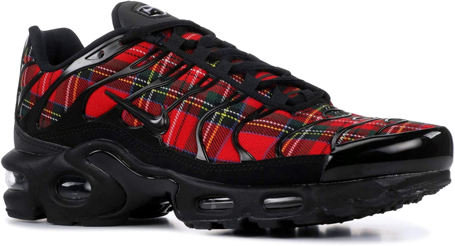 Nike Women s WMNS Air Max Plus TN SE, Black Black University RED