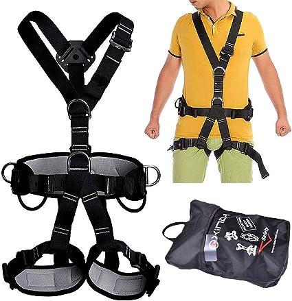 GYKFY Arnés de Escalada Cinturón de Seguridad de Cuerpo ...