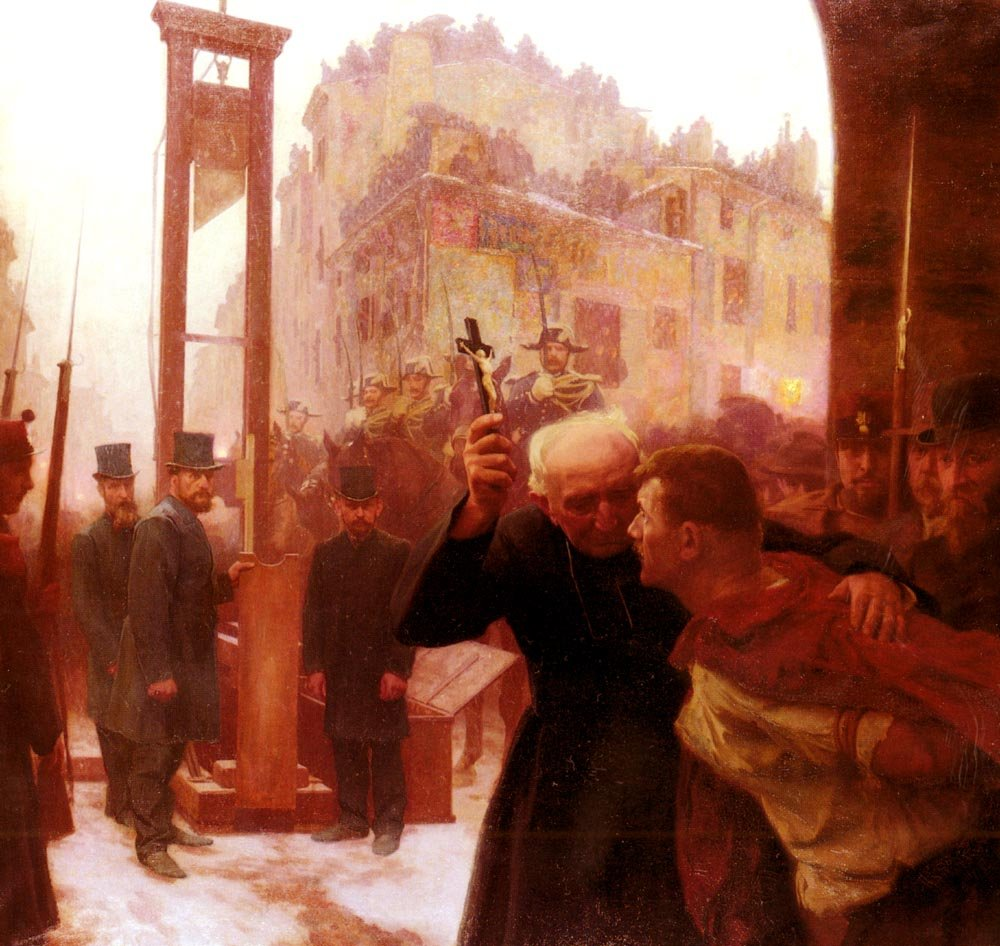 Friant Emile L'Expiation 100% Hand Painted Oil Paintings Reproductions 20X28 Inch