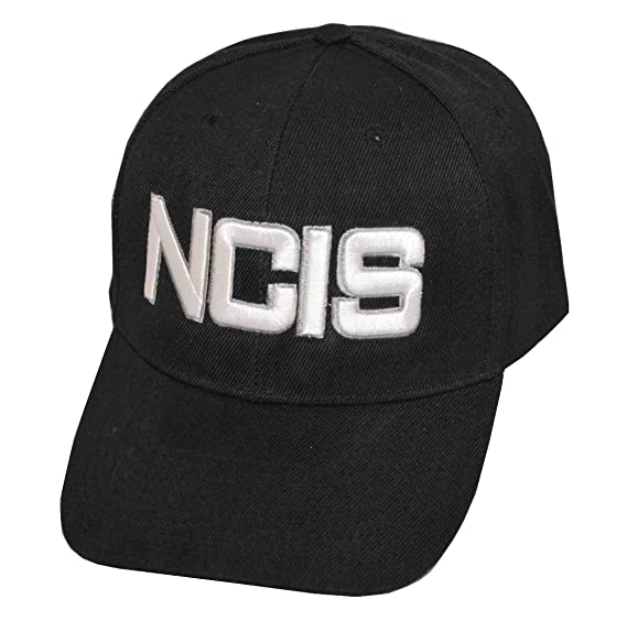 de81cab1e3b10 Image Unavailable. Image not available for. Color  Naval Criminal  Investigative Service NCIS Cap Hat-black-adjustable