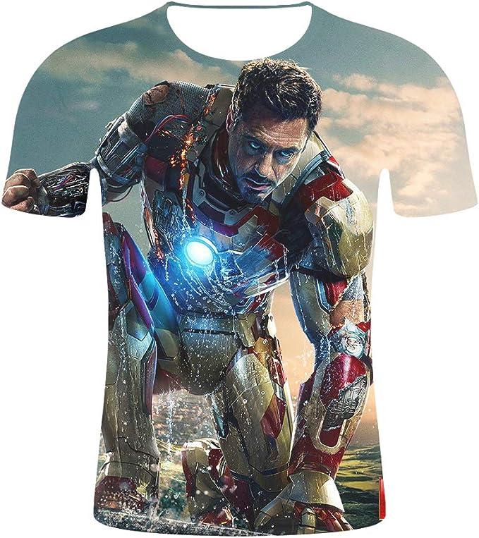 Ironman Cosplay Playera Tony Stark Disfraz de Ironman Avengers ...