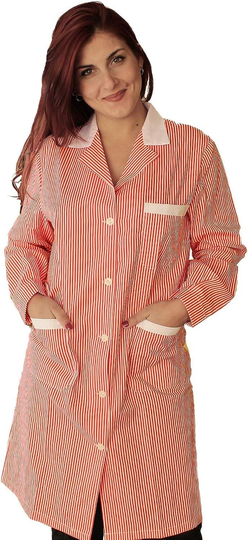 Petersabitidalavoro Chemises de Travail pour Femme Blanc