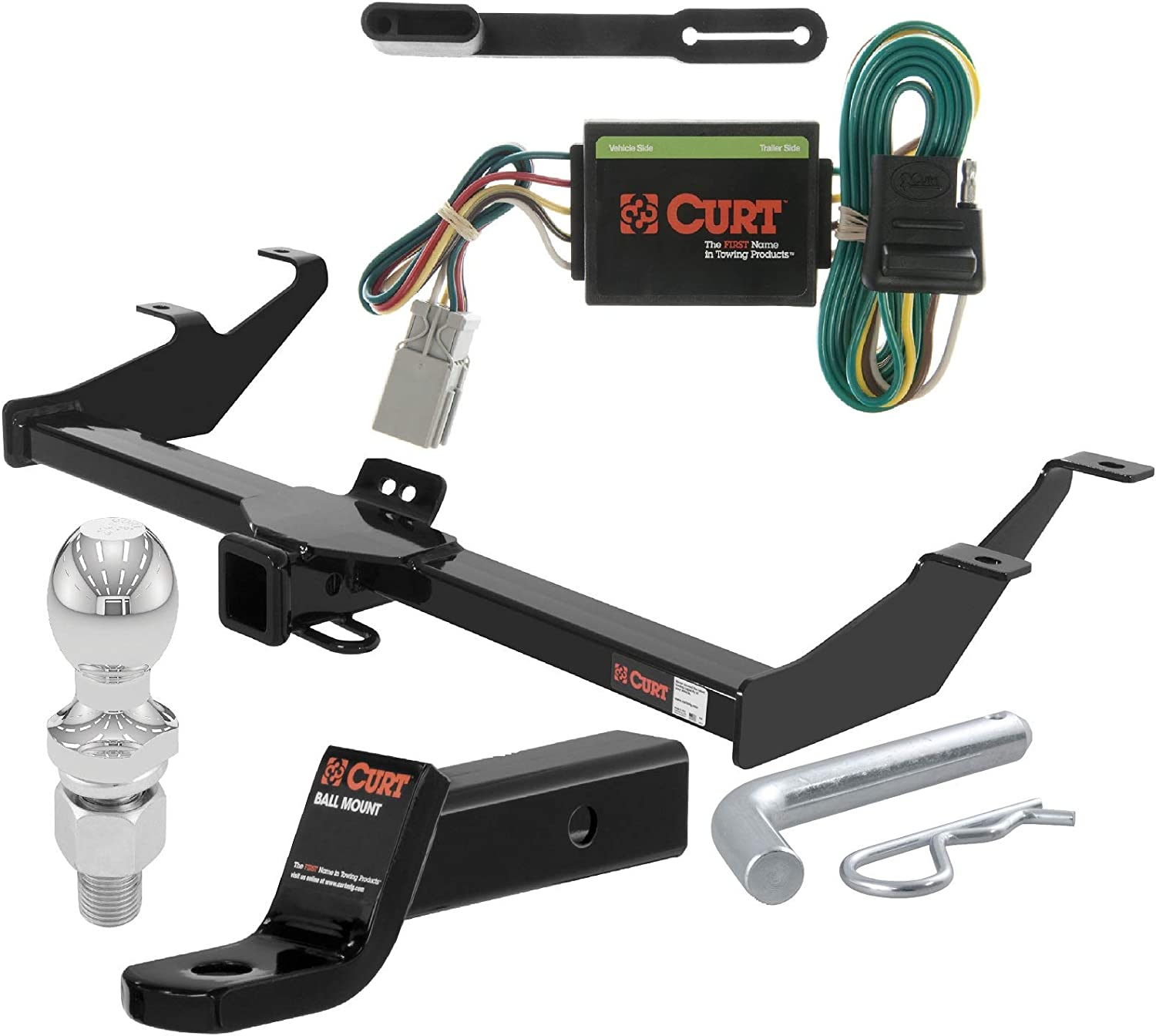 Curt 45141 Towing Wiring