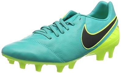online retailer 14222 8ccf6 Nike Tiempo Mystic V FG, Chaussures de Football Homme, Noir (Clear Jade