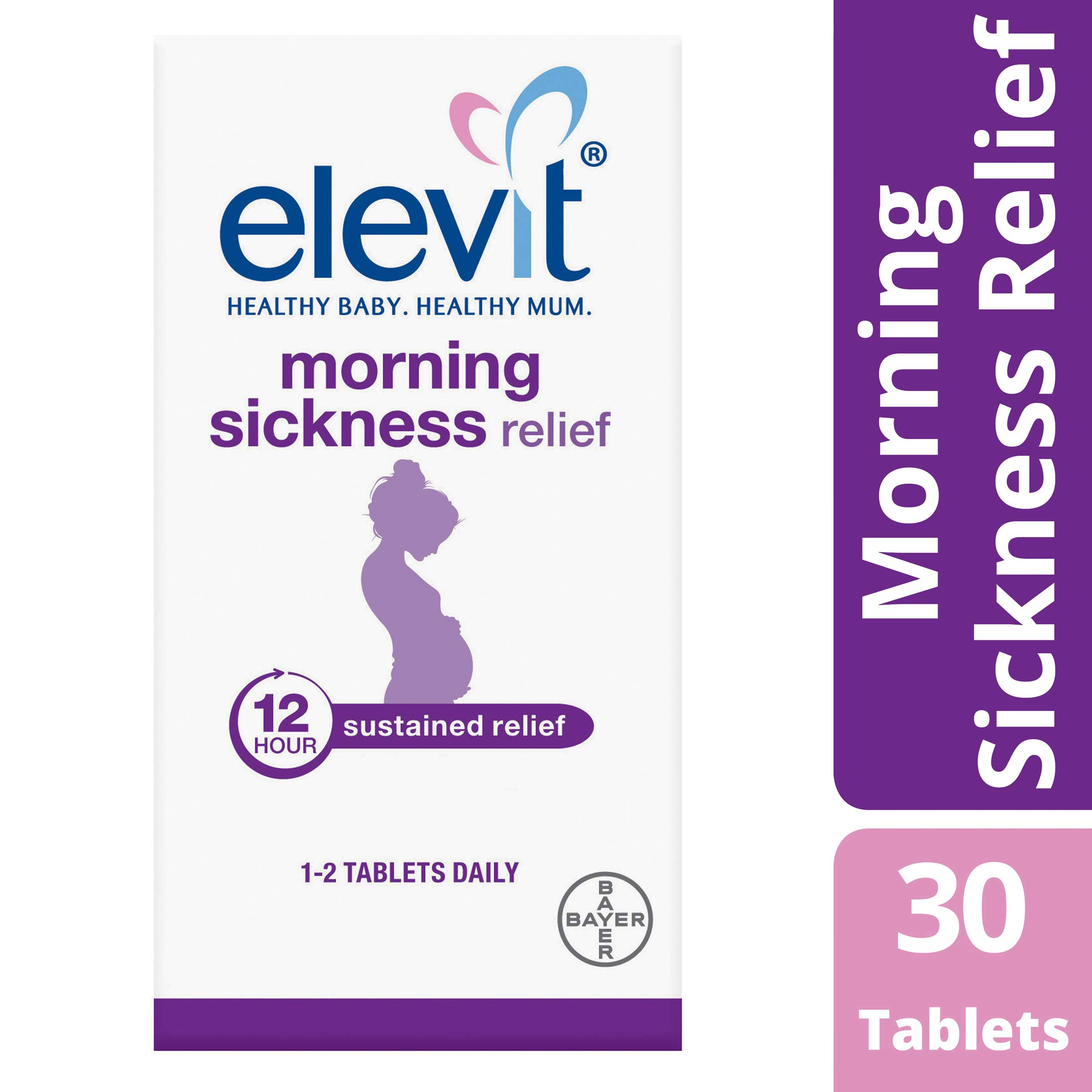 Elevit Morning Sickness Relief Tablets 30 Pack (30 Days)