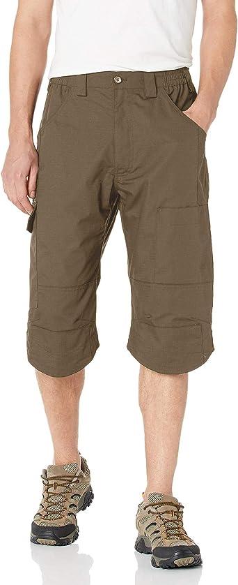 Amazon Com Pantalones Cortos Tacticos Para Hombre Pantalones Cortos De Trabajo Sueltos Resistentes Al Agua Multiples Bolsillos Pantalon Corto Cargo 30 Marron Clothing