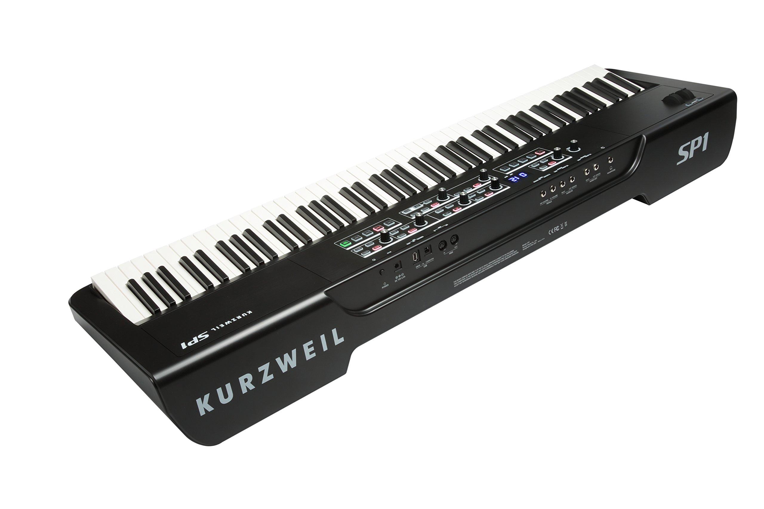 Kurzweil SP1 88-Key Stage Piano, Black (SP1-LB) by Kurzweil (Image #6)