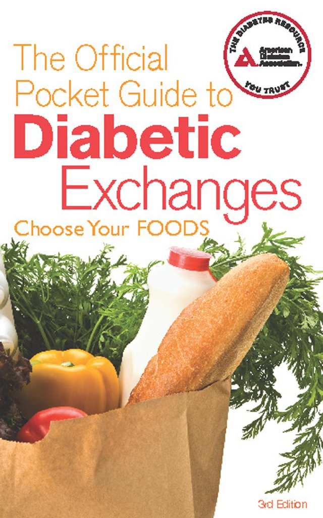 Read Online The Official Pocket Guide to Diabetic Exchanges: Choose Your Foods pdf