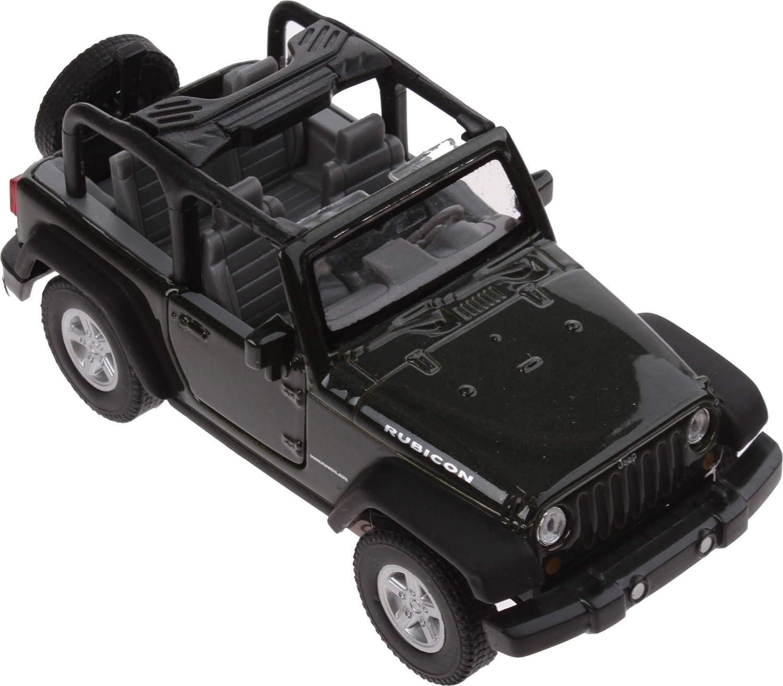 Modell Jeep Wrangler Rubicon Cabrio 1 34 Grün 11 Cm Spielzeug