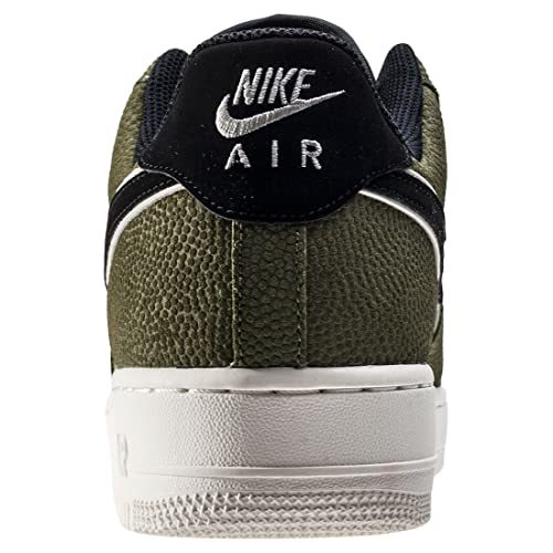 Nike - Air Force 1 07 LV8 - 718152308 - Color: Negro-Verde - Size: 44.0 QD1LYMgjY