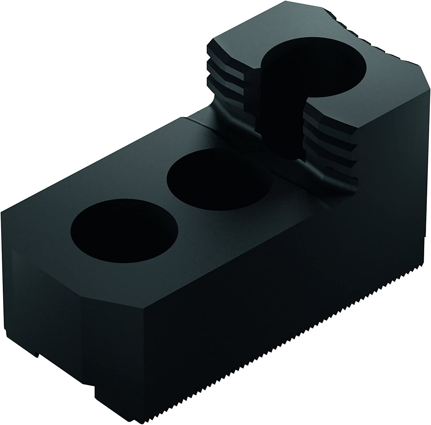 Pack of 3 12 mm Groove Width 28 mm x 36 mm x 67 mm 1.5 mm x 60 Degree SCHUNK 0133100 Steel Hard Stepped Top Jaws