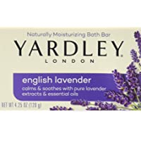 Deals on Yardley London English Lavender w/Essential Oils Soap 4.25 oz