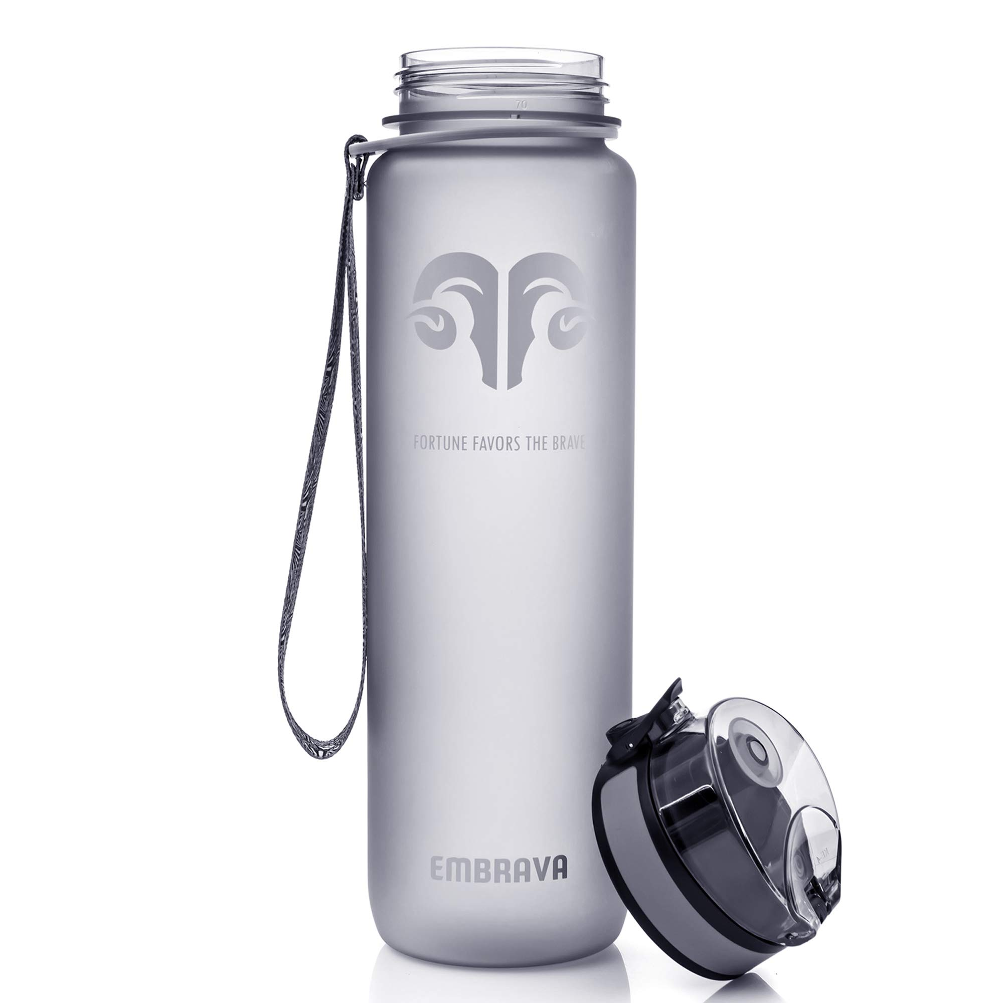 fa5f4ee74a Best Sports Water Bottle - 18oz Small - Eco Friendly & BPA-Free ...