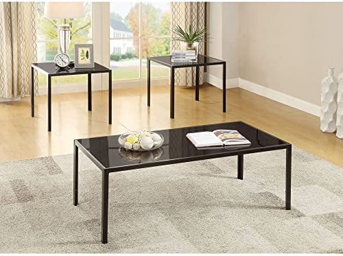 Coaster 720457-CO 3 Piece Coffee Table Set In Antique Pewter