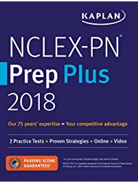 Amazon test preparation books professional college high nclex pn prep plus 2018 2 practice tests proven strategies online fandeluxe Gallery