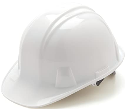 f4c030165a9 Image Unavailable. Image not available for. Color  Pyramex Standard Shell Snap  Lock Suspension Hard Hat