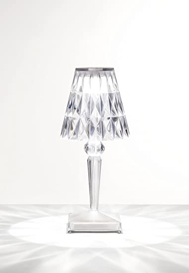 Kartell Lampada Da Terra.Kartell Battery Lampada Da Tavolo Cristallo