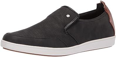 cf32d848a0c9 Steve Madden Men s FRENZZY Sneaker Black 7 ...