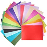 Exquiss 360 Pcs A4 Sizes Tissue Paper 8.3 x 11.7 Inches Bulk 36 Colors for Art Paper Craft Scrunch Art Pom Poms Paper Flowers DIY Craft Tracing Scrapbooking Embellishments+Craft Tools A4, 36