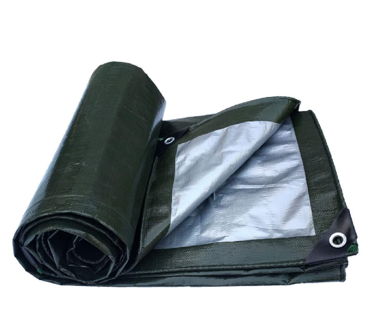 厚い防水シート屋外用防水布プラスチックオックスフォード布トラックサンシェードキャノピー日焼け止めオイルクロス雨布マルチサイズオプション (サイズ さいず : 4 * 5m) 4*5m  B07JDXMVDF
