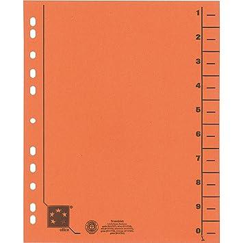 5 star 914786 - Separador para archivadores (30 x 24 cm, Pack de 100): Amazon.es: Oficina y papelería