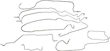 OE FIX Dorman 919-281 Brake Hydraulic Line Kit for Select Dodge Models