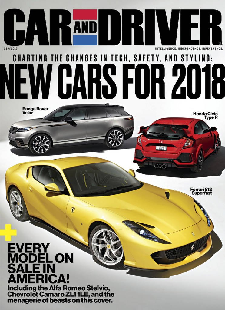 Car And Driver >> Car And Driver Amazon Com Magazines
