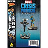 Fantasy Flight Games Marvel: Crisis Protocol Cyclops and Storm Character Pack