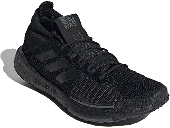 plato Revolucionario Obligatorio  adidas Men PULSEBOOST HD M Running Shoes Black: Amazon.co.uk: Shoes & Bags