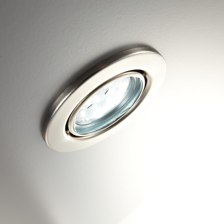 lámpara empotrable de techo