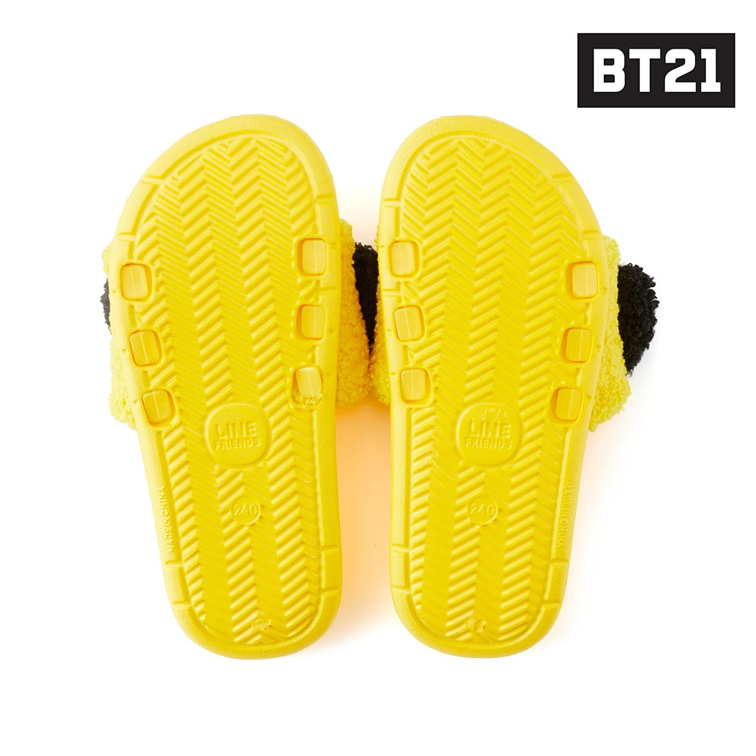 770214ded3c8 BT21 Women s Chimmy Boucle Slipper US 8 One Size Yellow  Amazon.ca  Shoes    Handbags