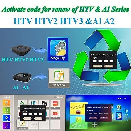 Amazon com: IPTV Subscription HTV HTV3 HTV5 A1 A2 Brazil Box