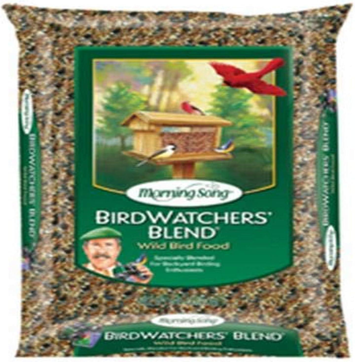 Morning Song 11956 Birdwatchers Blend-Wild Bird Food, 18-Pound