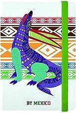 By Mexico Libreta Rayada modelo Alebrije Blanco 80 hojas