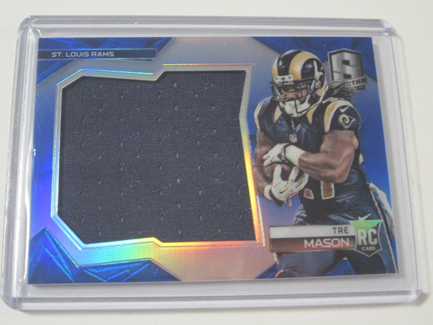 2014 Panini Spectra Tre Mason Rookie Signed Autographed Refractor ...