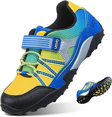 Zapatillas de Running para Niños Calzado de Deportivo Velcro ...