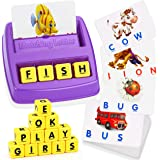 ATOPDREAM Matching Letter Game for Kids - Educational Toys Stocking Flash Cards Learning Toys for 3-8 Year Olds Boys Girls Bi