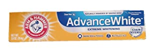 ARM & HAMMER Advance White Extreme Whitening Toothpaste, 2.8 Oz (Pack of 3)