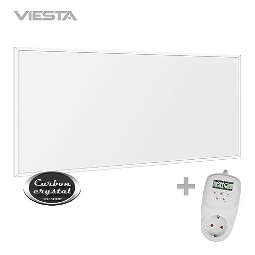 Viesta F450Panel Radiador de infrarrojos Calefacci/ón ultradelgado Blanco de 450W